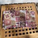 подвързия за книга в розово и бордо вариации уникални за всяка поръчка