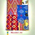 подвързия за книга Марокана е изработена от испански жакардов плат и е с интересна ориенталска шарка