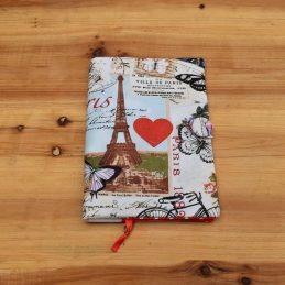подвързия за книга разходка в Париж ръчна изработка