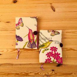 обложка за книга с красиви птичета