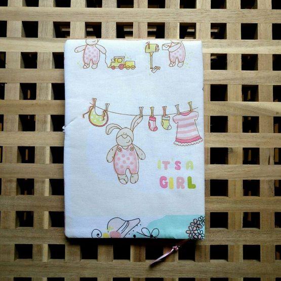 """Подвързия за книга """"Бебещки работи"""" 2"""