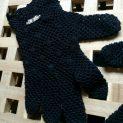 """Дамски ръкавици """"Романтиика в черно"""" , плетиво на една кукка, дантелни, официлани"""