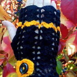 плетени ръкавици без пръсти Хелоуин 2 - Marchella's Art