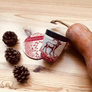 аксесоар чашка с дрешка Зима 1- Marchella's Art