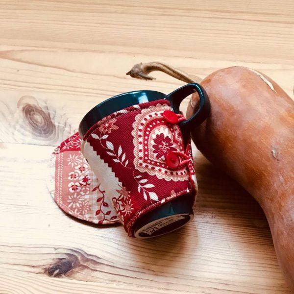 аксесоар чашка с дрешка Зима - Marchella's Art - изглед отзад