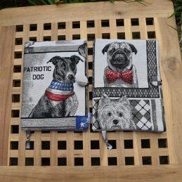 подвързия за книга на забавни кучета - Marchella's Art