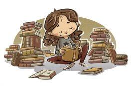 11 красиви прични да четем книги