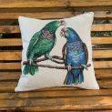 Декоративни възглавници с папагали